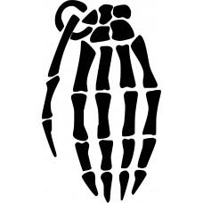 Hand Grenade Skeleton