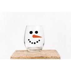 Snowman Face Style 4
